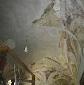 Alsóbogát, Festetich Kiskastély - Sala Terrana boltozata felújítás közben